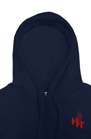 Match My Fly Red/Navy Pullover Hoodies