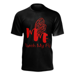 MMF Men Black/RedOrange Short Sleeve Shirts