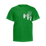 MMF Boys Green/White Short Sleeve