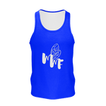 MMF Men  Blue/White Tank Tops