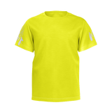 MMF Boys Yellow/White Short Sleeve Shirts