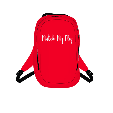 MMF Red/White Bookbag
