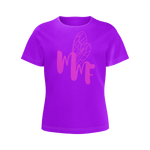 MMF Girl Violet/Hot Pink Short Sleeve Shirts