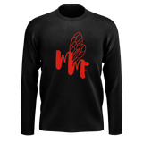 MMF Men Black/Red Long Sleeve Shirts