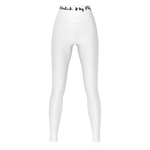 MMF Women White/Black Leggings