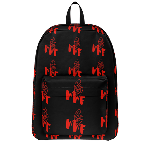 MMF Black/Red Bookbag