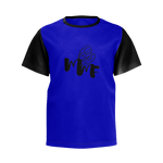 MMF Toddlers Navy/Black Short Sleeve Shirts