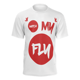 MMF Men White/Red Short Sleeve Shirts Collection