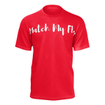 MMF Men Red/White Short Sleeve Shirts