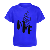 MMF Toddler Blue/Black Short Sleeve Shirts