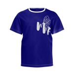 MMF Boys Navy/White Short Sleeve Shirts