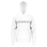 MMF Men White/Black Pullover Sweaters