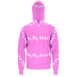 MMF Men Pink/White Hoodies
