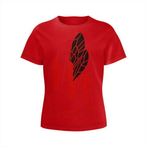 MMF Girl Red/Black Short Sleeve Shirts