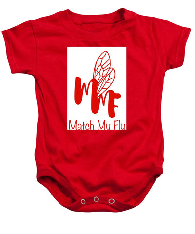 Match My Fly  Unisex Baby Onesie