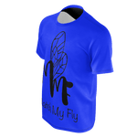 MMF Men Blue/Black Short Sleeve Shirts