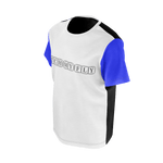 MMF Boys Blue/White/Black Short Sleeve Shirt