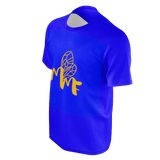 MMF Men Blue/Orange Short Sleeve Shirts