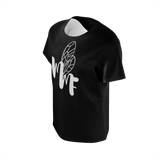MMF Girl Black/White Short Sleeve Shirts