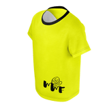 MMF Toddler Yellow/Black Short Sleeve Shirts
