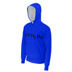 MMF Women Royal Blue/Black Pullover Hoodies