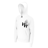 MMF Men White/Black Hoodies