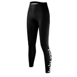 MMF Women Black/White Leggings