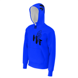 MMF Match My Fly Men Blue/Black pullover  Hoodie