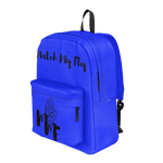 MMF Blue/Black Bookbag