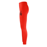 MMF Women Red/Black Leggings