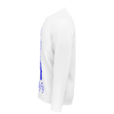 MMF Men White/Blue Long Sleeve Shirts