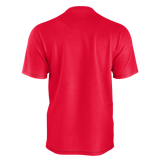 MMF Men Red/Black Short Sleeve Shirts