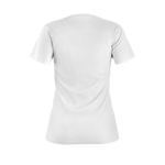 MMF Women White/Black Short Sleeve Shirts