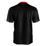 MMF Men Black/Red Short Sleeve Shirts