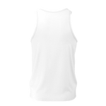 MMF Men White/Black Tank Tops