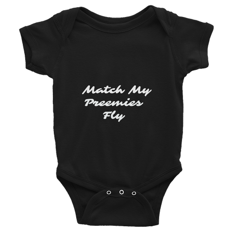 Match My Fly Infant Boys Bodysuit