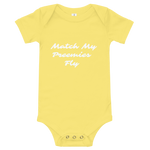 Match My Fly Infant Onesies
