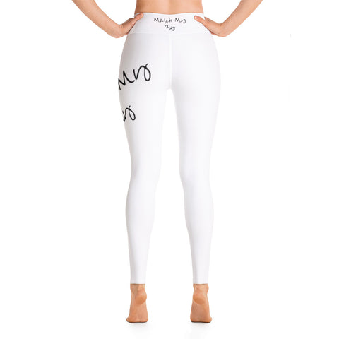 Match My Fly Women White Leggings