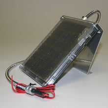 Load image into Gallery viewer, 6 VOLT & 12 VOLT SOLAR CHARGERS WITH CABLE BRACKET