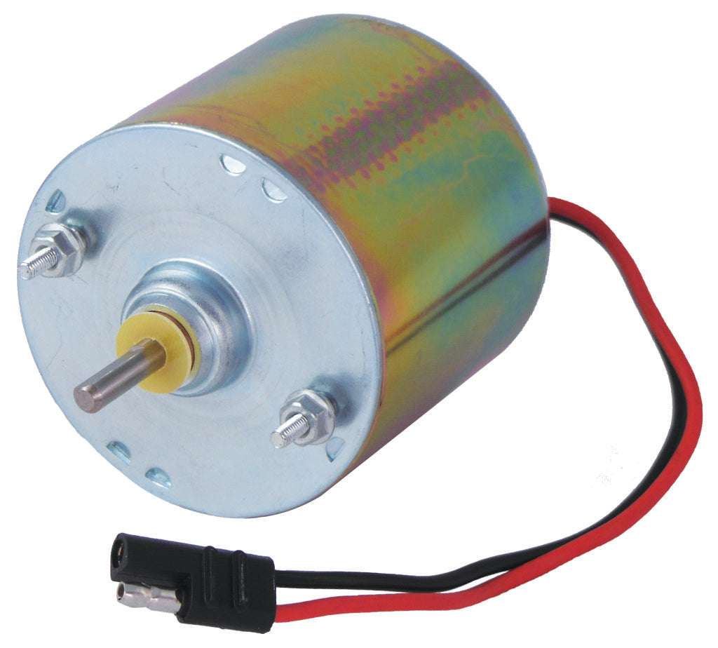 SILVER 12 VOLT MOTOR WITH 1/4