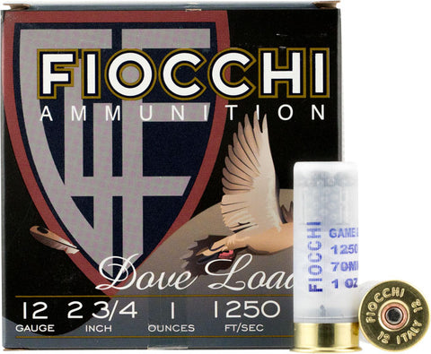 Fiocchi 12 Guage Target Ammo, **CLEARANCE**