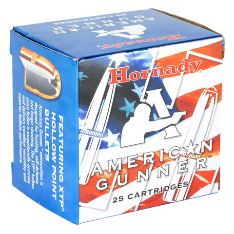 NEW! Hornady American Gunner 357 Magnum Ammo 125 Grain XTP Jacketed Hollow Point, 25 Rounds