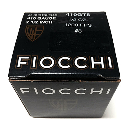 Fiocchi 410 Gauge Ammo **CLEARANCE**