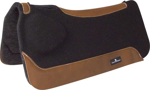 Classic Equine BioFit Correction Horse Saddle Pad, Black