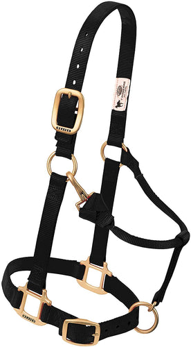 Weaver Adjustable Chin and Throat Snap Halter, Asst. Colors/Sizes