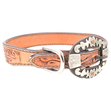 Load image into Gallery viewer, CASHEL DOG COLLAR OVAL FLORAL