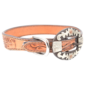 CASHEL DOG COLLAR OVAL FLORAL