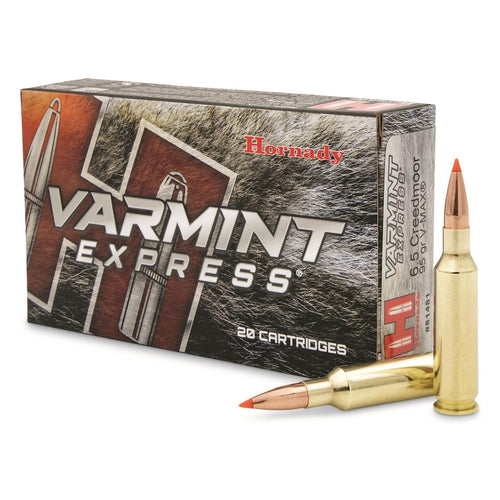 Hornady Varmint Express Ammunition/22-250 Remington 55 Grain/V-MAX, Box of 20 **CLEARANCE**