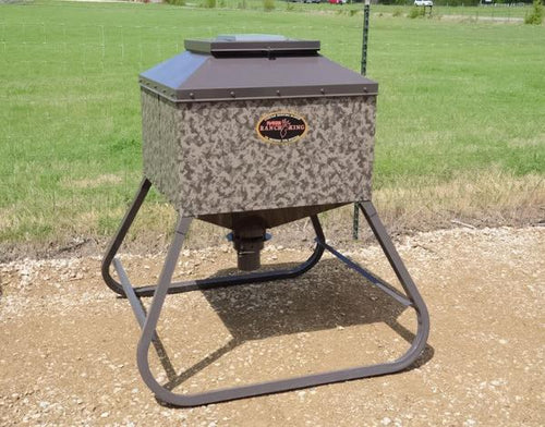 Ranch King Mighty Buck Corn Feeder, 600 lbs.