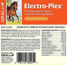 Load image into Gallery viewer, Oralx Electro-Plex Supplement for Horses, 34Gm